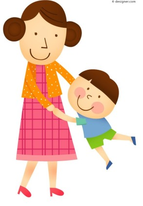 cartoon-mother-vector-material-52926